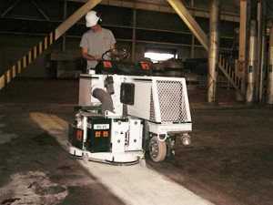 polishing and staining concrete floors