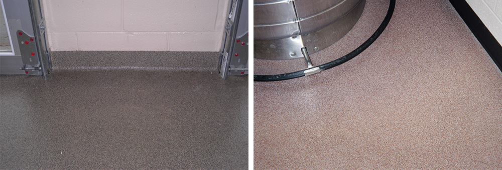 With The Inherent Nature Of The Sand Being Broadcast In The Epoxy Resin These Systems Also Have A Non Skid Characteristic That Can Be Reduced Or Increased